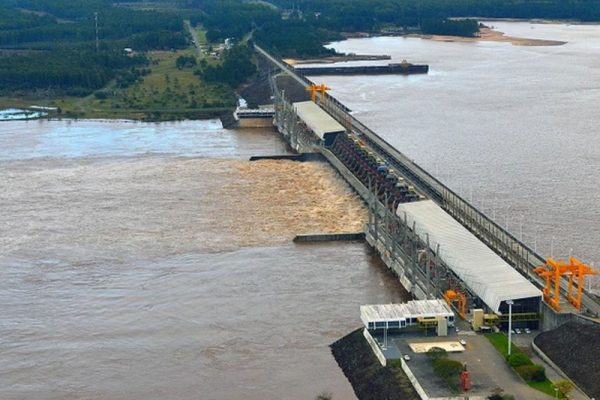 Represa Salto Grande Ente By Nacional Argentina Uruguay Con Misubishi